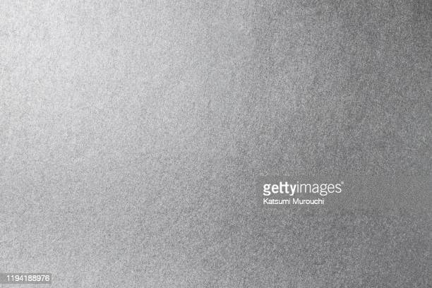 silver paper texture background - 銀色 ストックフォトと画像