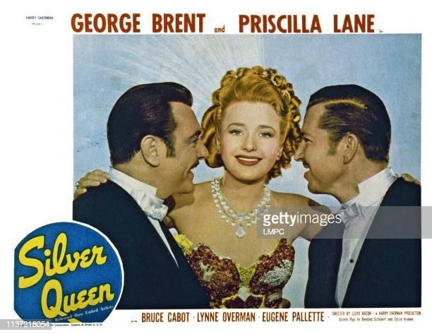 George Brent Priscilla Lane Bruce Cabot 1942