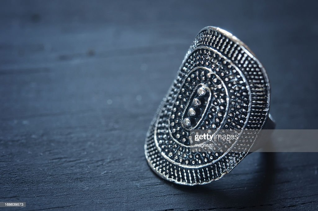 Silver Ring : Stock Photo