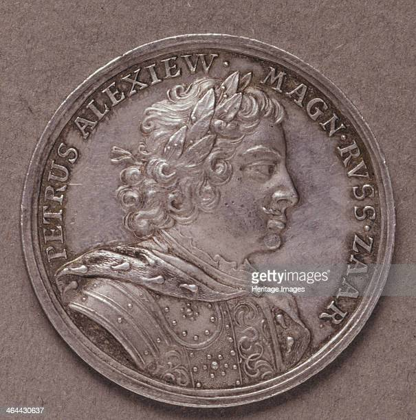 Silver Ruble 1714 Found in the collection of the State History Museum Moscow