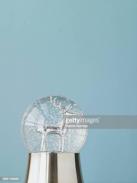 Silver snowglobe