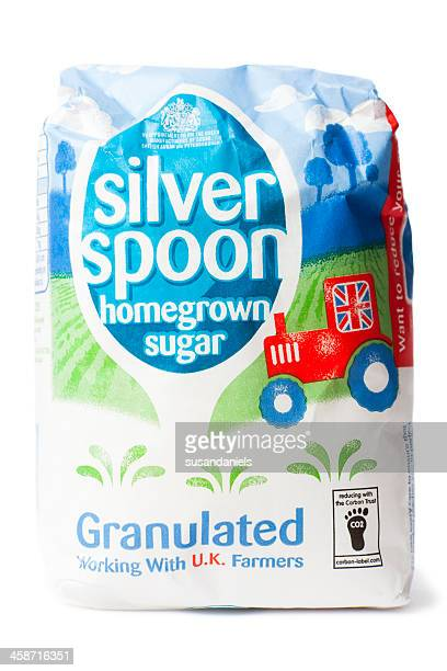 silver spoon sugar - kilogram stock pictures, royalty-free photos & images