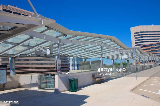 silver spring transit center, silver spring, maryland - silver spring stock pictures, royalty-free photos & images