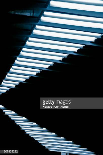 silver stairway. design - howard pugh stock pictures, royalty-free photos & images