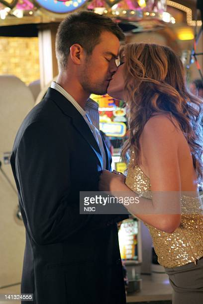 LAS VEGAS Silver Star Episode 10 Pictured Josh Duhamel as Danny McCoy Nikki Cox as Mary Connell Photo By Justin Lubin/NBC/NBCU Photo Bank