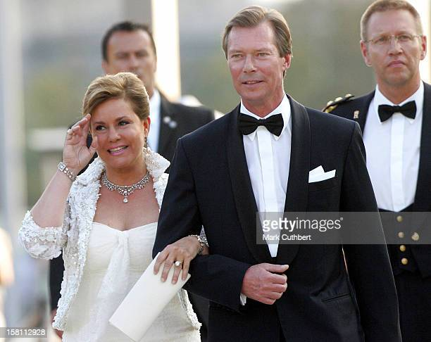 Silver Wedding Anniversary Celebrations Of Grand Duke Henri Grand Duchess MariaTheresa Of LuxembourgReception Special Performance At The Grand Theatre