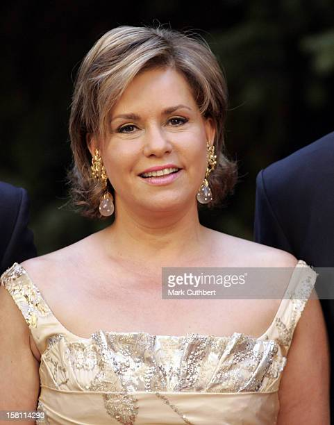 Silver Wedding Anniversary Celebrations Of Grand Duke Henri Grand Duchess MariaTheresa Of LuxembourgGala Dinner At The Chateau De Berg