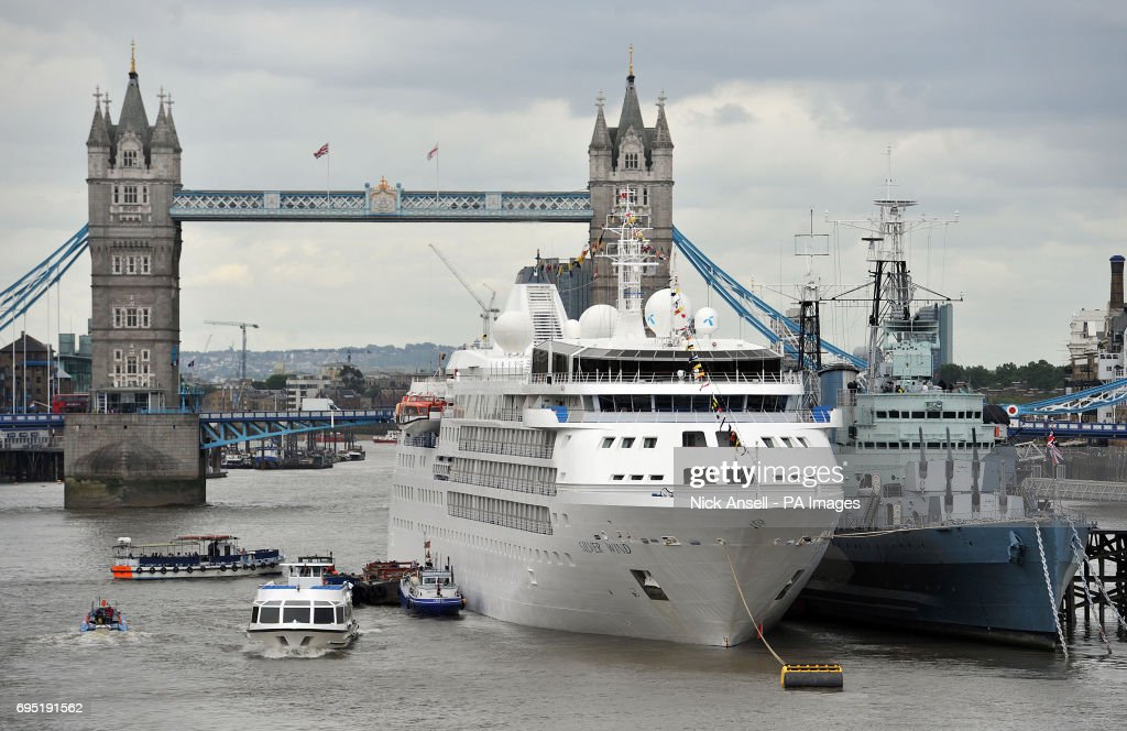 Silver Wind Cruise Ship Visits London Pictures Getty Images - Cruise ship in london