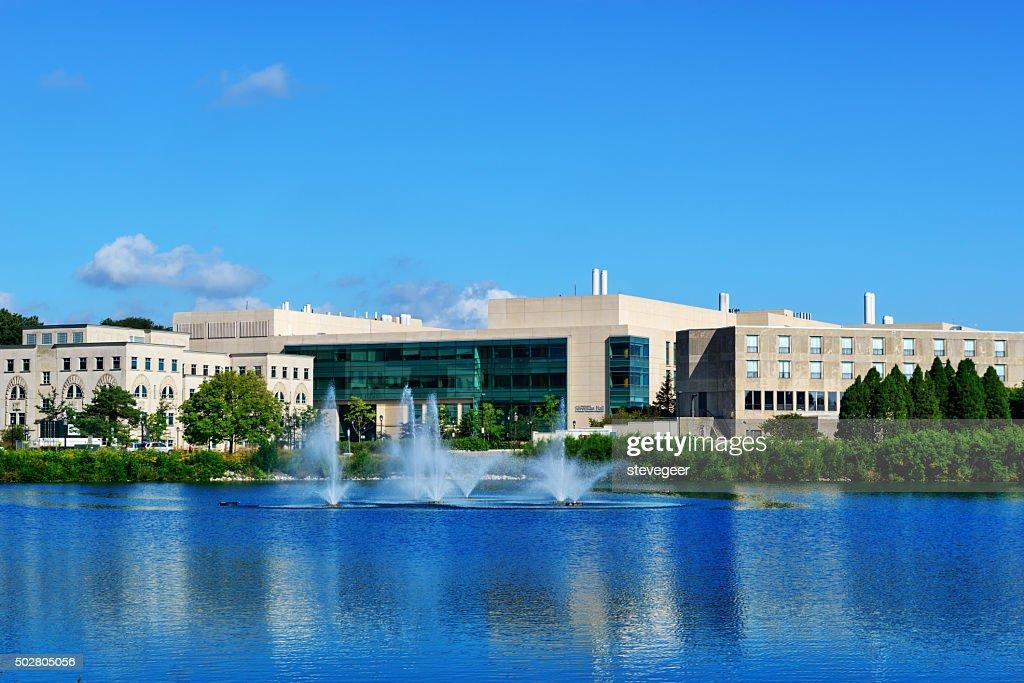 Silverman Hall, Northwestern University : Stock Photo