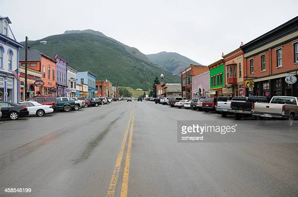 Silverton Colorado down town area