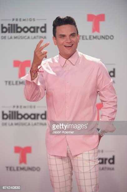 Silvestre Dangond attends the Billboard Latin Music Awards at Watsco Center on April 27 2017 in Miami Florida