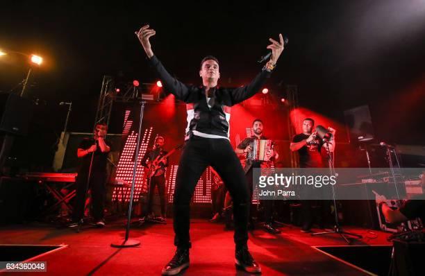 Silvestre Dangond performs in a Parranda Privada Concert on February 8 2017 in Miami Florida