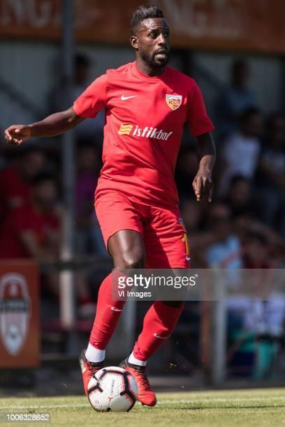 Silvestre Varela of Kayserispor during the Preseason Friendly match between jong FC Utrecht and Kayserispor at Sportpark Rheden on July 27 2018 in...