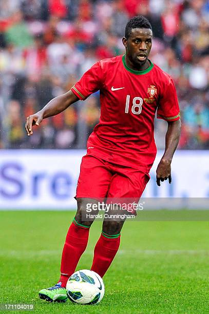 Silvestre Varela of Portugal in action during the international friendly match between Portugal and Croatia on June 10 2013 in Geneva Switzerland
