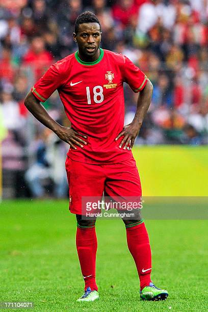 Silvestre Varela of Portugal looks on during the international friendly match between Portugal and Croatia on June 10 2013 in Geneva Switzerland