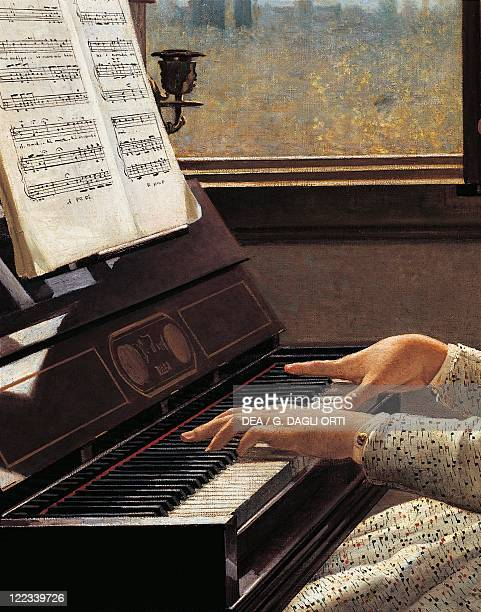 Silvestro Lega The Starling's Song Detail