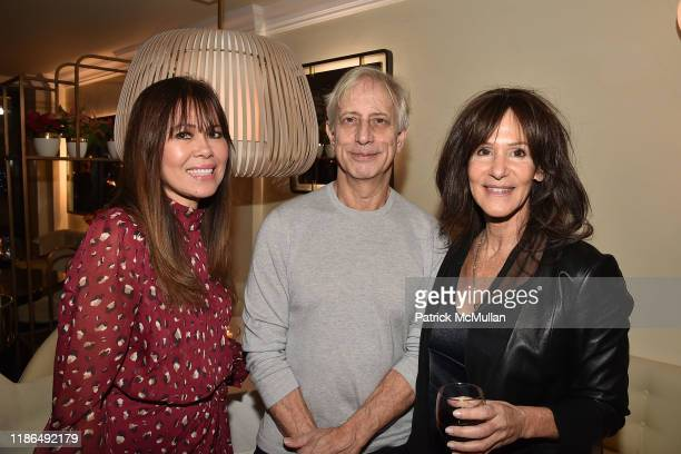 Silvette Julian Jay Weiss and Leslie Cohen attend Grand Opening Of Avena UES on December 3 2019 in New York City