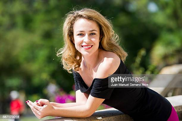Silvia Abascal attends at the International Menendez Pelayo University on August 8 2016 in Santander Spain