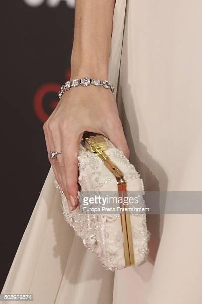 Silvia Abascal attends Goya Cinema Awards 2016 at Madrid Marriott Aud
