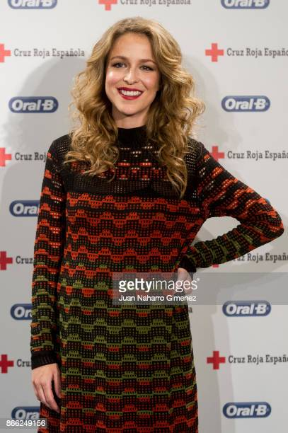 Silvia Abascal attends 'Regala Sonrisas' photocall at Lazaro Galdiano Museum on October 25 2017 in Madrid Spain