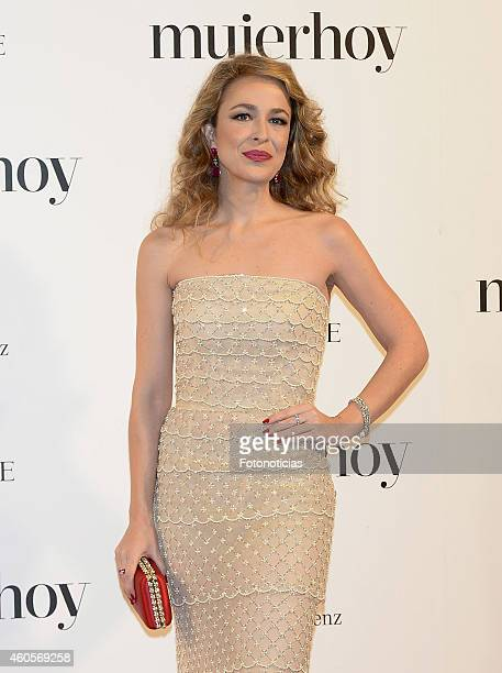 Silvia Abascal attends the 2014 Mujer Hoy Awards at The Palace Hotel on December 16 2014 in Madrid Spain