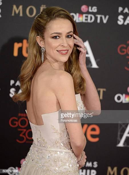 Silvia Abascal attends the Goya Cinema Awards 2016 Ceremony at Madrid Marriott Auditorium on February 6 2016 in Madrid Spain