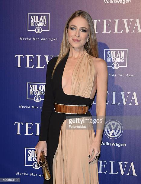 Silvia Abascal attends the 'T De Moda' Awards by Telva Magazine at the Teatro Real on December 1 2015 in Madrid Spain