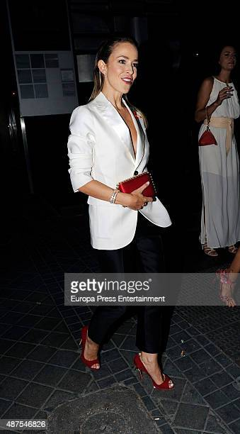 Silvia Abascal is seen attending the party after the premiere of 'Ma Ma' on September 9 2015 in Madrid Spain