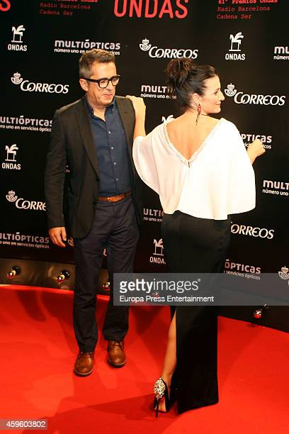 Silvia Abril and Andreu Buenafuente attend the Onda Awards 2014 Gala on November 25 2014 in Barcelona Spain