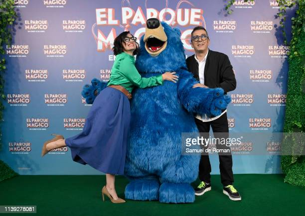 Silvia Abril and Andreu Buenafuente attend the 'Wonder Park ' premiere at Capitol cinema on March 30 2019 in Madrid Spain