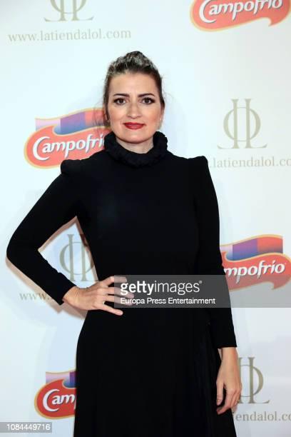 Silvia Abril attends Campofrio Christmas spot presentation at Circulo de Bellas Artes on December 18 2018 in Madrid Spain