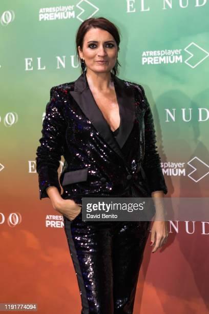 Silvia Abril attends El Nudo presentation by Atresmedia on December 3 2019 in Madrid Spain
