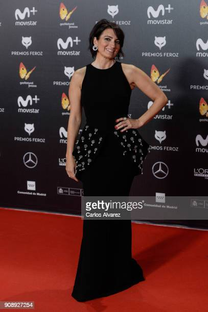 Silvia Abril attends Feroz Awards 2018 at Magarinos Complex on January 22 2018 in Madrid Spain