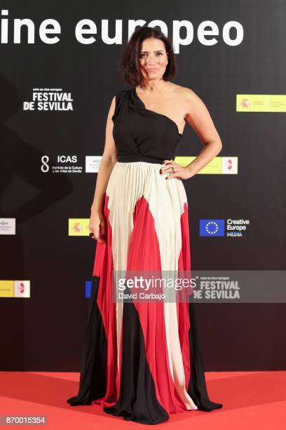Silvia Abril attends the Gala of the European Film Festival of Sevilla on November 3 2017 in Seville Spain