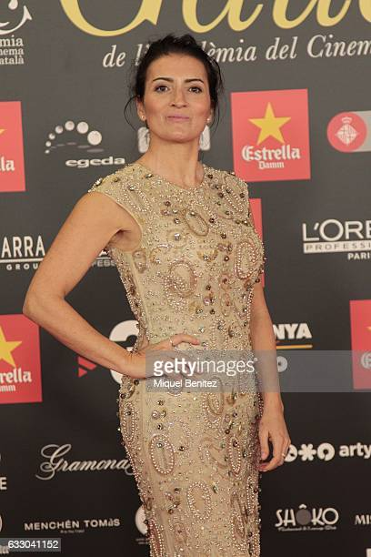 Silvia Abril attends the IX Gaudi Awards 2016 at the Forum's Auditori on January 29 2017 in Barcelona Spain