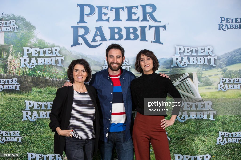 'Peter Rabbit' Madrid Photocall