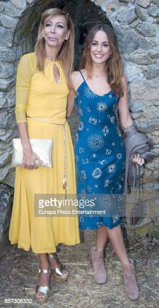 Silvia Alonso and Elisa Matilla attend the wedding of Dafne Fernandez and Mario Chavarria on September 2 2017 in Avila Spain