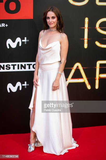 Silvia Alonso attends Instinto premiere by Movistar at Callao Cinema on May 09 2019 in Madrid Spain