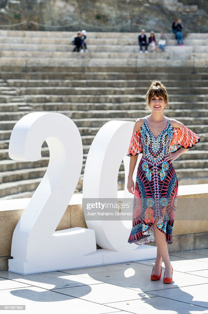 Silvia Alonso attends 'Seor, Dame Paciencia' photocall during of the 20th Malaga Film Festival on March 25, 2017 in Malaga, Spain.