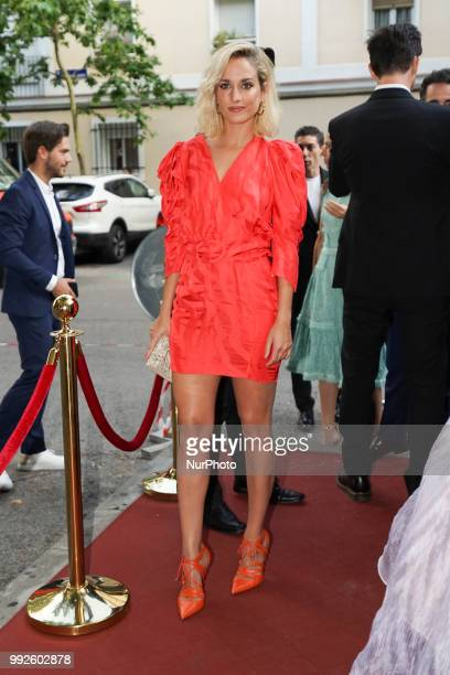 Silvia Alonso attends the Bambu 10th anniversary party at Gran Maestre Theater on July 5 2018 in Madrid Spain