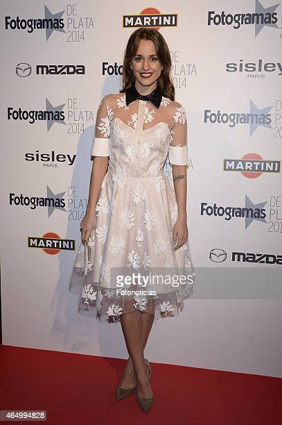 Silvia Alonso attends the Fotogramas Awards ceremony at Joy Eslava on March 2 2015 in Madrid Spain
