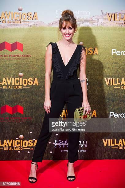 Silvia Alonso attends 'Villaviciosa De Al Lado' premiere at Capitol Cinema on December 1 2016 in Madrid Spain