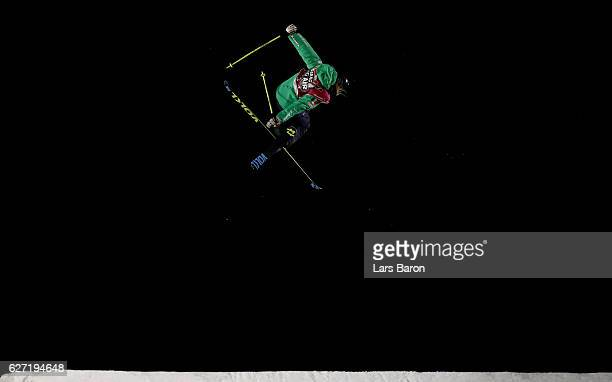 Silvia Bertagna of Italy competes during the Ski Big Air Final of the ARAG Big Air Freestyle Festival on December 2 2016 in Moenchengladbach Germany