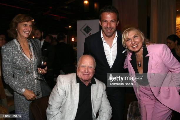 Silvia Bizio Alessandro Del Piero Richard Dreyfuss and Svetlana Erokhin attend the Lina Wertmuller True Italian Taste Gala Reception Dinner CoHosted...