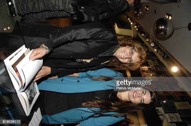 Silvia Bizio and Alessandra GarciaLorido attend Woolrich John Rich Bro's Photo Exhibition with Douglas Kirkland at Bloomingdales on September 16 2010...