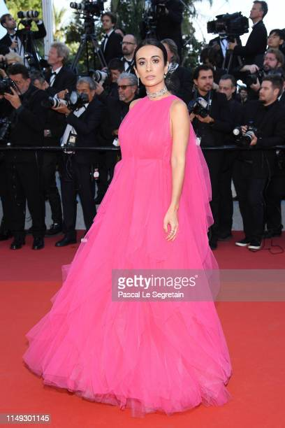 Silvia Braz attends the screening of Les Miserables during the 72nd annual Cannes Film Festival on May 15 2019 in Cannes France