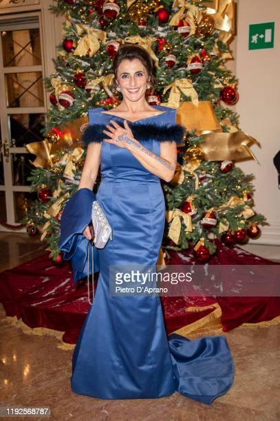 """Silvia Colombini attends the """"Prima Alla Scala"""" at Teatro Alla Scala on December 07, 2019 in Milan, Italy."""