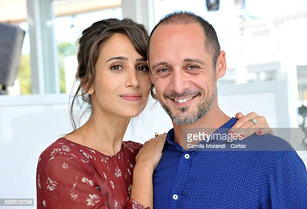 Silvia D'Amico and Daniele Parisi attend the premiere of 'Orecchie' during the 73rd Venice Film Festival on September 1 2016 in Venice Italy