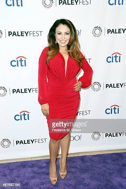 Silvia Del Valle attends The Paley Center for Media's PaleyFest 2015 Fall TV Preview for Univision at The Paley Center for Media on September 10 2015...