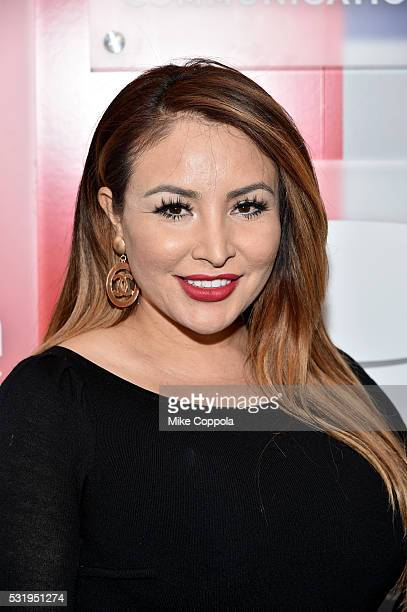 Silvia Del Valle attends Univision's 2016 Upfront Red Carpet at Gotham Hall on May 17 2016 in New York City